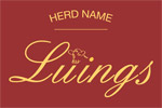 Luings Logo with Herd Name